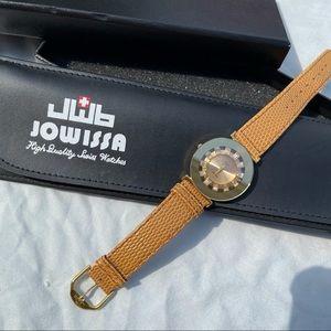 2️⃣0️⃣0️⃣Swiss jowissa Leather watch